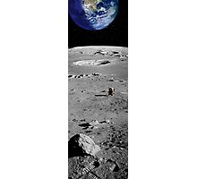 Far from Home (The Moon) Photographic Print