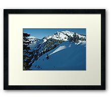 Crater Lake Oregon Framed Print