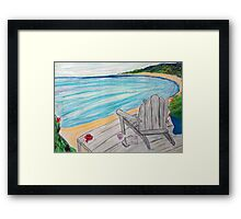 Morning by the Sea Framed Print