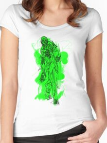 More Brains! Women's Fitted Scoop T-Shirt