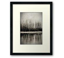 Solitude Revisited Framed Print