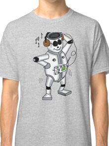 retro robot -the groover t-shirt Classic T-Shirt