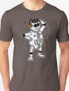 retro robot -the groover t-shirt T-Shirt