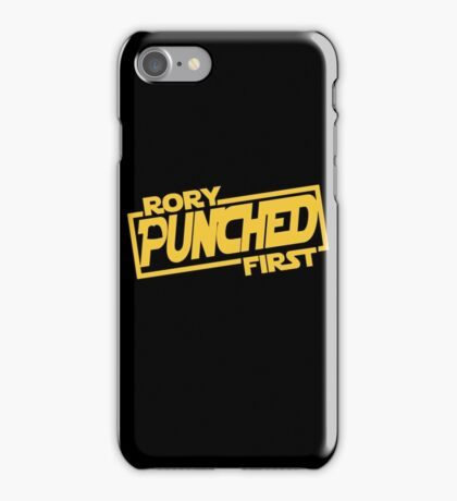 Rory punched first - Star Wars Doctor Who meshup iPhone Case/Skin