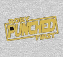 Rory punched first - Star Wars Doctor Who meshup Baby Tee