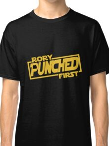 Rory punched first - Star Wars Doctor Who meshup Classic T-Shirt