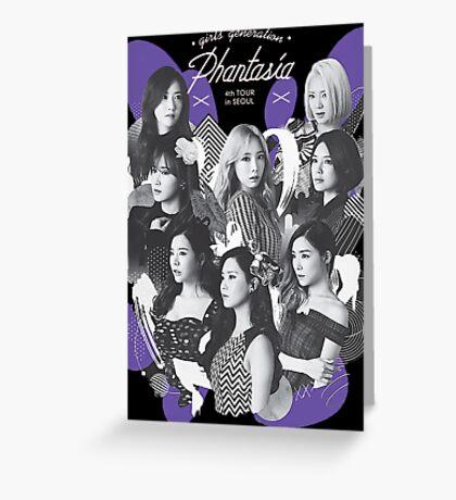 Girls' Generation (SNSD) 'PHANTASIA' Concert Greeting Card