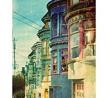 Behind the window Photographic Print