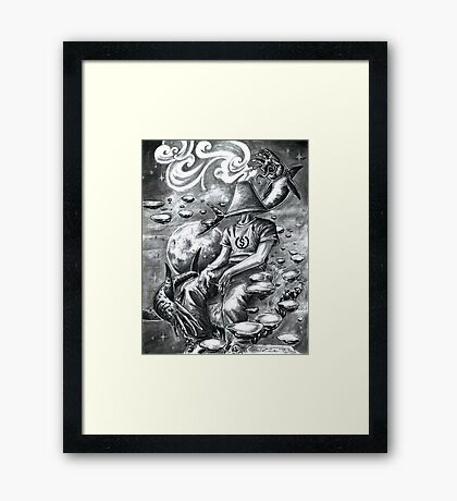 """Light Headed"" Framed Print"