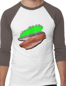 Life's a fillet of fish Men's Baseball ¾ T-Shirt