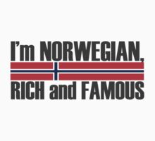 I'm Norwegian, rich and famous by Skavold