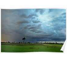 South East Qld Storm Poster