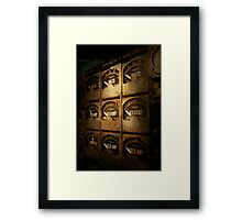 Steampunk - Naval - Electric - Power Grid Framed Print