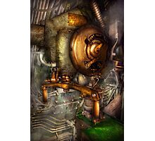 Steampunk - Naval - Shut the valve  Photographic Print