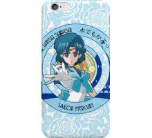 Sailor Mercury - Sailor Moon Crystal (rev. 1) iPhone Case/Skin