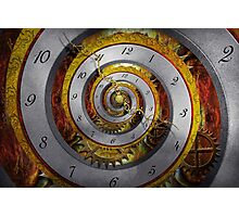 Steampunk - Spiral - Infinite time Photographic Print