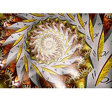 Steampunk - Spiral - Time Iris Photographic Print