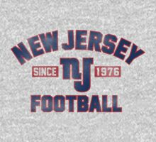 New Jersey Giants One Piece - Long Sleeve