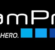 Go Pro - I am Pro AND a HERO (Parody) Sticker