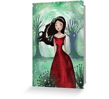 Outside The Fairy Kingdom Greeting Card