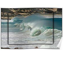 Waves at Injinup Poster
