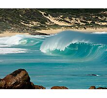 """Surf's Up"" at Injinup, Western Australia Photographic Print"