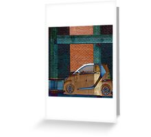 Smart Car Dream Abstract Greeting Card
