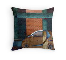 Smart Car Dream Abstract Throw Pillow