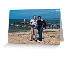 The Photographers at Elwood Beach Greeting Card