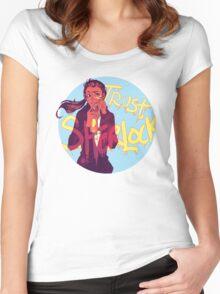 Trust Sherlock Women's Fitted Scoop T-Shirt