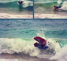 Rain, hail or shine... a Grommets gotta surf by Tam  Locke