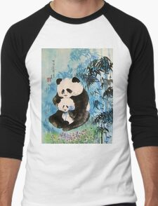 tenderness in the bamboos Men's Baseball ¾ T-Shirt