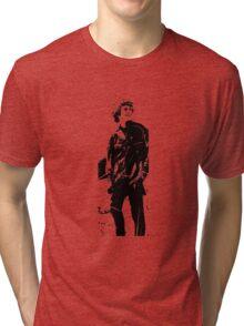 Man on a mountain Tri-blend T-Shirt