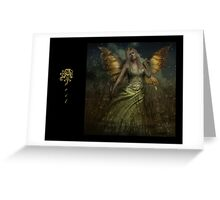 April Fairy Greeting Card
