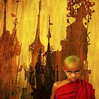 Mandalay Monk & Spires by EricKuns