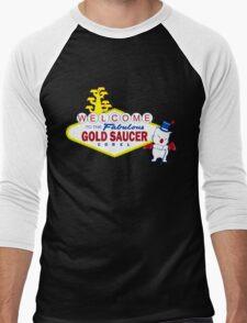 Fabulous Gold Saucer Alternate Men's Baseball ¾ T-Shirt