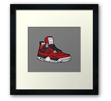 Shoes Toro (Kicks) Framed Print