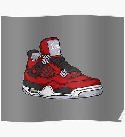 Shoes Toro (Kicks) Poster
