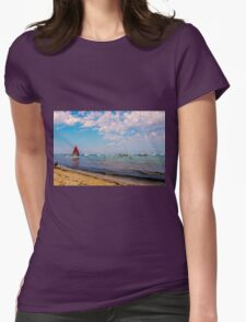 South Beach Womens Fitted T-Shirt