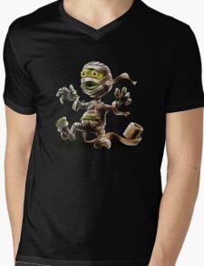 Funny Mummy Mens V-Neck T-Shirt