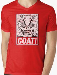 COAT! Cruella De Vil Mens V-Neck T-Shirt