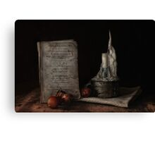 American Cookery Canvas Print