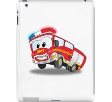Happy the Fire Truck iPad Case/Skin