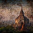 Bagan tapestry. by DaveBassett