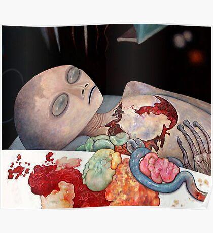 Alien Autopsy Poster