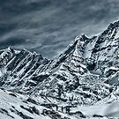 Snowy Mountains by Helmar Designs