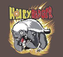 Honey Badger. He's OVER 9000!  One Piece - Short Sleeve