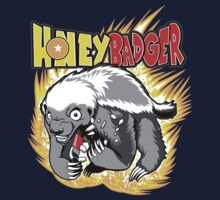 Honey Badger. He's OVER 9000!  T-Shirt