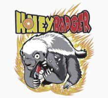 Honey Badger. He's OVER 9000!  Kids Tee