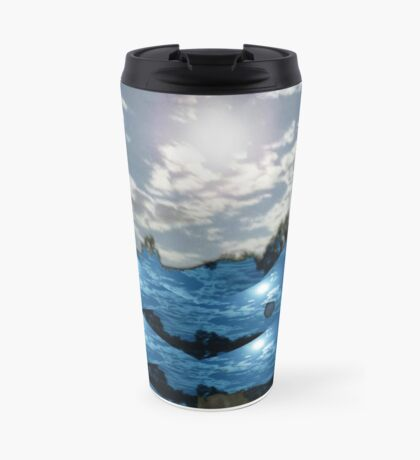 Moonlit Landscape Travel Mug